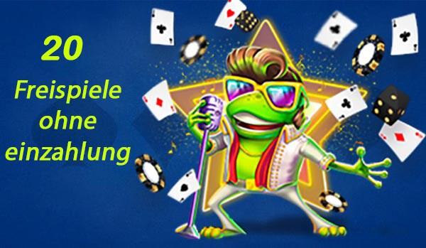 20 Freispiele ohne einzahlung 20Bet Casino