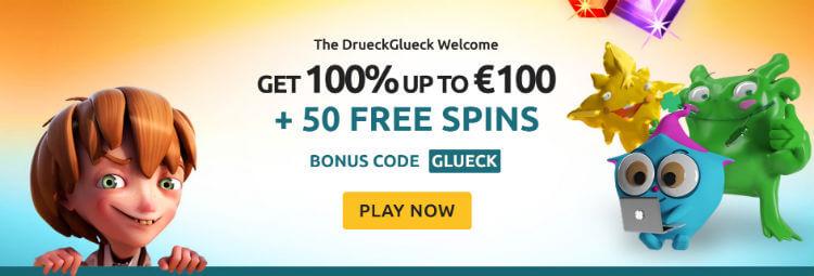 Druckgluck Casino Bonus