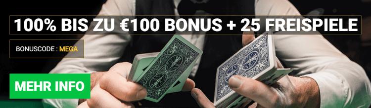Mega Casino Free spins Bonus