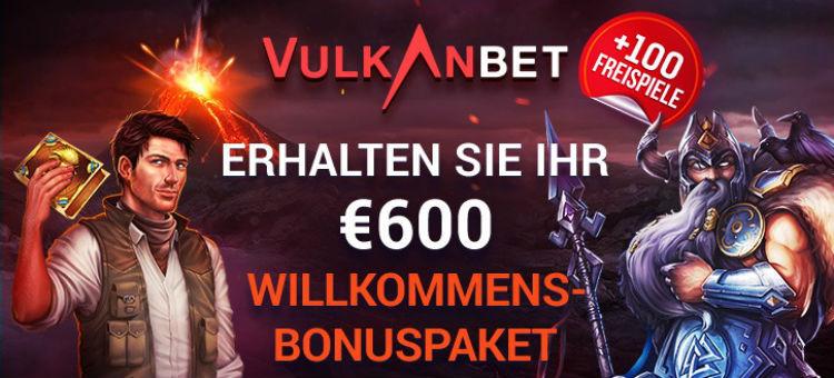 VulkanBet Casino Welcome Bonus