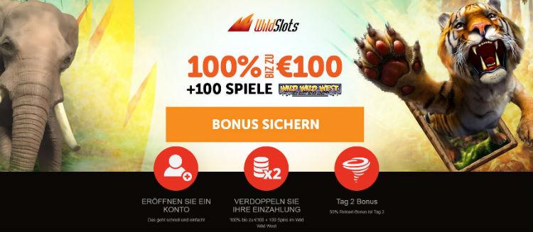 WildSlots Casino Welcome Bonus