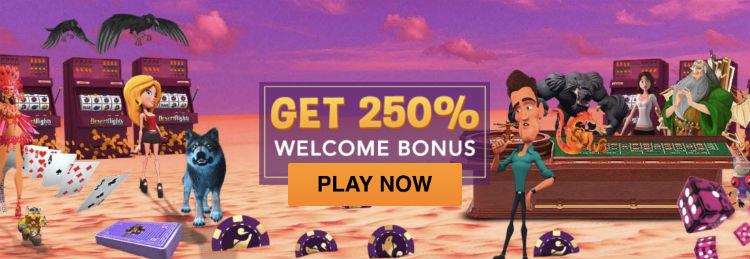 DesertNights Casino Welcome Bonus