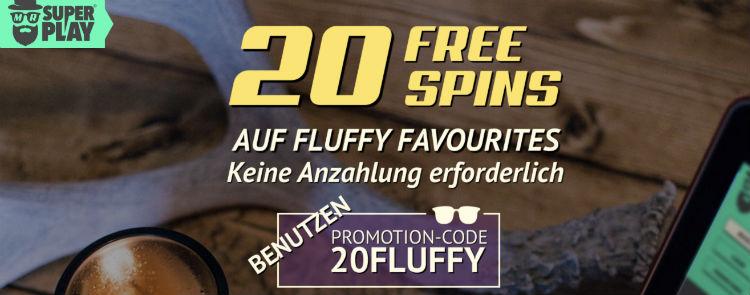 MrSuperplay Casino Free Spins ohne Einzahlung