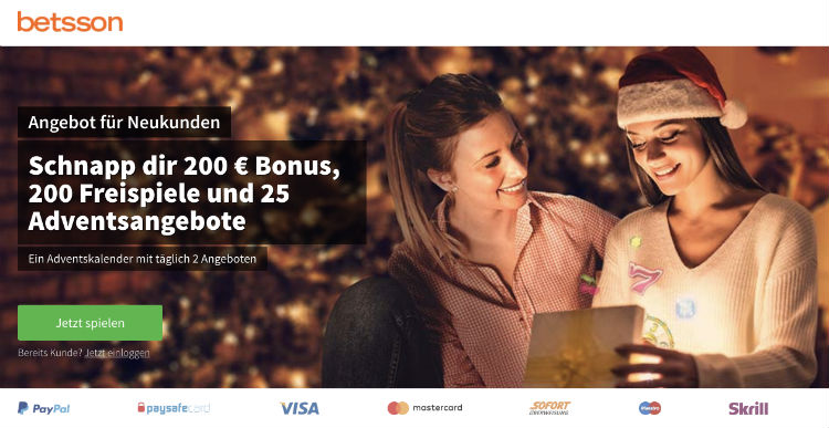 Betsson Casino Promotion