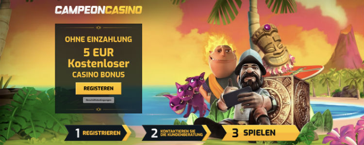 CampeonBet Casino Bonus ohne Einzahlung