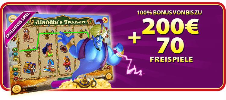 Gratorama Casino Welcome Bonus