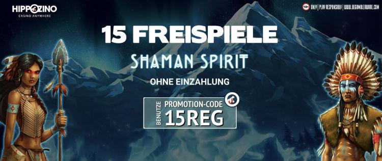 Hippozino Casino Free Spins ohne Einzahlung