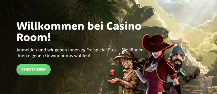 Casino Room Free Spins ohne Einzahlung
