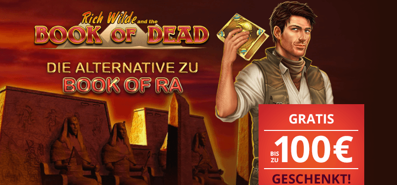 Platin Casino Bonus am Book of Dead Slot