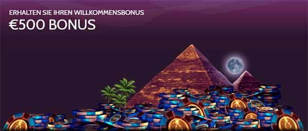 Mummys Gold Casino Willkommensbonus