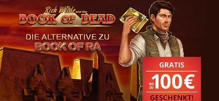 Platin Casino Book of Dead Bonus