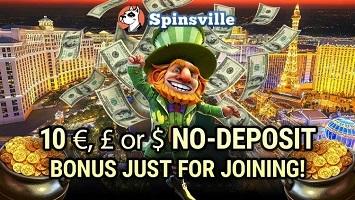 Spinsville Casino bonus onhe einzahlung