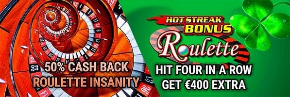 Spinsville Casino Roulette Bonus