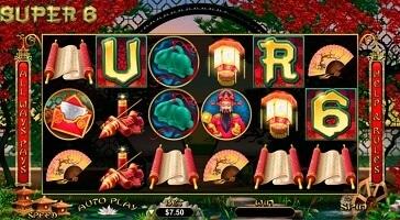 Super 6 Spielautomaten