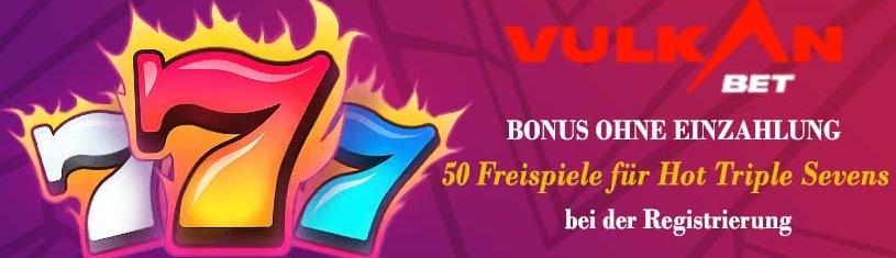 Vulkan Bet Casino bonus ohne Einzahlung